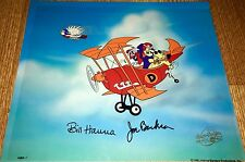 Hanna Barbera Signed Pre Production Cel Dastardly And Mutely Wacky Races Cell