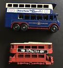 Lledo Promo Borough Of Doncaster Blue Bus Plus One Other