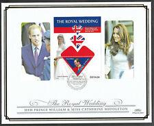 Palau 2011 Large FDC Wedding of William & Catherine Ltd Ed 31/250