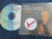 Paul Hardcastle Hardcastle 3 - Featuring The Jazzmasters ADVANCE Promo CD Album