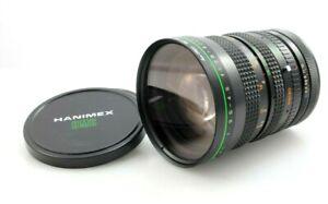 Hanimex 28-80mm f3.5-4.5 Macro Zoom lens, manual focus, Canon FD mount