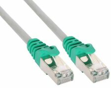 InLine Cat. 5e PATCHKABEL CAT 5E SF/TP CROSSOVER 2X RJ-45, grau, 1m