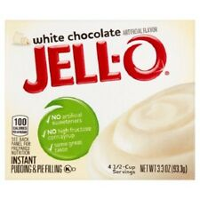 Jello Instant White Chocolate Instant Pudding 93g