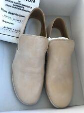 Maison Martin Margiela MMM for H&M nude color loafer shoes Eur 41 US 8 balmain