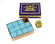 Billard Kreide Triangle grün (Snookerkreide) 12er Pack