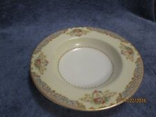 New Listingvintage Noritake China Fl 8 1 4 Gold Rimmed Soup Bowl Occupied An Nice