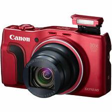 Canon PowerShot SX710 HS Digitalkamera rot - Akzeptabler Zustand