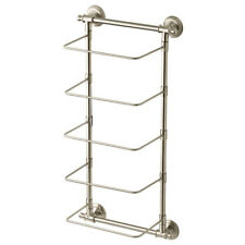Delta 5-Bar Wall-Mounted Towel Rack In Spot Resistant Brushed Nickel Finish Zinc