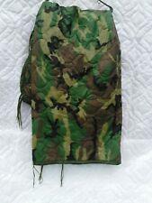 Rare New US Military Surplus USGI Woodland Camo Poncho Liner WOOBIE Blanket 90'S