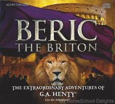 New BERIC THE BRITON The Extraordinary Adventures of G A Henty Audio CD SET 2016