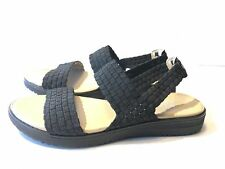 Easy Spirit Talini Sandal (875) Black Fabric MISMATCH Size 6.5R; 6L