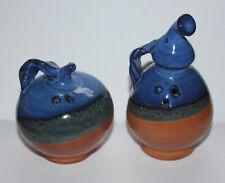 Ceramik Salt & Pepper Vintage Shakers Set