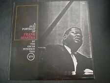 A JAZZ PORTRAIT OF FRANK SINATRA BY THE OSACR PETERSON TRIO LP RECORD JAPAN NM