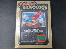 BRAND NEW BALLYS ASTROCADE RED BARON PANZER ATTACK 2003 GAME CARTRIDGE 1981