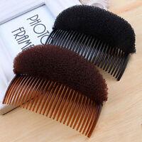 KQ_  Magic Puff Hair Styling Comb,Slide Clip Stick Bun Maker Braid Tool Accessor