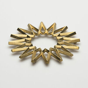 Futagami Brass Kitchen Trivet - Galaxy