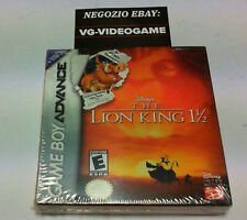 THE LION KING 1 1/2 GAME BOY ADVANCE NUOVO !!!!!