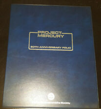 PROJECT MERCURY 20TH ANNIVERSARY FOLIO COMMEMORATIVE STAMP COLLECTION