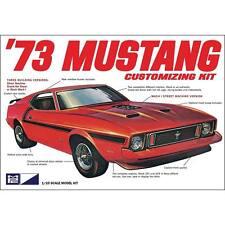 MPC 1/25 1973 Mustang Customizing Kit Build Three Ways PLASTIC MODEL KIT 846