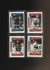 1999-00 Upper Deck MVP Silver Script Kubina Madden Redden Sharifijanov Lot of 4