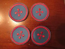 """SEW ON APPLIQUES LARGE BUTTONS 1"""" FOR CRAFTING DOLL CLOTHES LOT OF 42"""