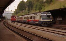 PHOTO  SWITZERLAND LE LOCLE 1993 RAILWAY BLS 722