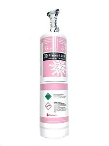 R 410 a REFRIGERANT 1.43 LBS (23oz) FAST SHIPPING / VALVE INCLUDED! PINK CAN