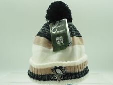 Pittsburgh Penguins Youth Boys (8-20) Reebok Knit Pom Hat Center Ice Collection