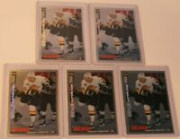 1995-96 Upper Deck Collector's Choice Player's Club #45 Pavel Bure Hockey Card 5