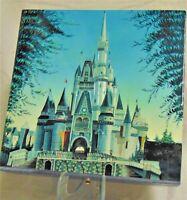 """Disney - Cinderella Castle 12"""" x 12"""" Bas-Relief Box (LE)"""