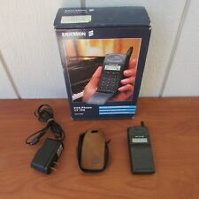 Ericsson CF 788 PCS Vintage cell phone with box , case  / Untested,  No Battery