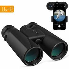 APEMAN 10X42 HD Binoculars for Adults with Low Light Night Vision,Compact