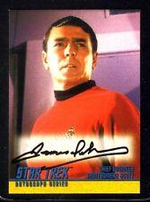 JAMES DOOHAN 'Scotty' Star Trek Autographed 1997 Skybox Trading Card ~ Certified