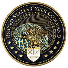 United States Cyber Command Challenge Coin USCYBERCOM Internet Data Security US