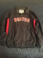 Boston Red Sox Dugout Jacket Majestic Therma Base Auth Coll. Size Youth Large