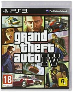 GTA 4 PS3 - Grand Theft Auto IV PRISTINE 1st Class Super FAST and FREE DELIVERY