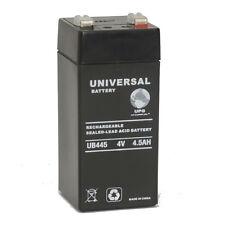 UPG 4V 4Ah SLA Replacement Battery for RHINO SLA4.5-4 Panasonic LCS384P