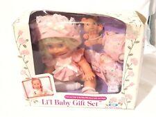 Vtg Cititoy Li'l Baby Gift Set NIB Drink & Wet Doll Bear 80's 90's Girl Toys NEW