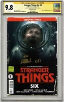 STRANGER THINGS SIX #3 CGC 9.8 SS MILLIE BOBBY BROWN