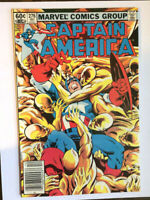 CAPTAIN AMERICA #276- BARON ZEMO II -NEWSSTAND- Falcon & Winter Soldier