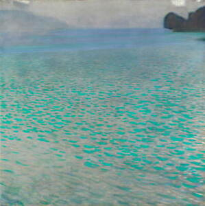 Gustav Klimt Attersee Poster Reproduction Paintings Giclee Canvas Print