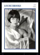 Louise Brooks Star Portrait mapa - 80er años top + G 22397