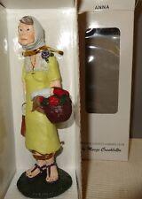 "Marge Crunkleton Lincoln County Garden Club VII '96 ""ANNA"" Collectible Figurine"