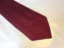 Mens Red SILK Tie Necktie MIGNOLO MASCHI (9785)