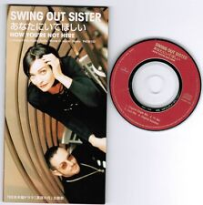 "SWING OUT SISTER Now You're Not Here JAPAN 3""CD 4-track PHDR-150 Unsnapped FreeS"