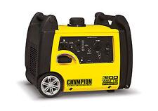 New Champion 3100 watt Gas Portable Gasoline Generator Inverter Super Quiet