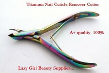 Titanium Nail Cuticle Remover Cutter Nipper Clipper Cutter Manicure Nail Trimmer