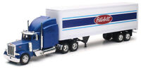 Peterbilt 379 w/ Dry Van Trailer 1:32 Model - New Ray SS-12333A*