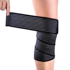 Sports Calf Leg Knee Support Band Brace Sleeve Bandage Wrap Compression Belt New