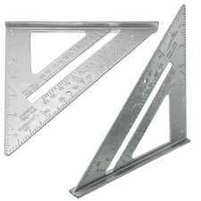 Miter Framing Angle Protractor Measuring Sharpeners Speed Square Ruler